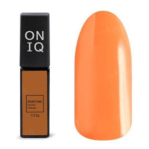 OGP-113s Гель-лак для покрытия ногтей. PANTONE: Russet orange