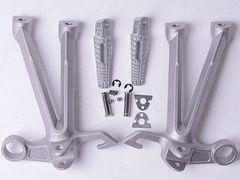 Подножки задние с кронштейнами для мотоцикла Suzuki GSX-R1000 07-08