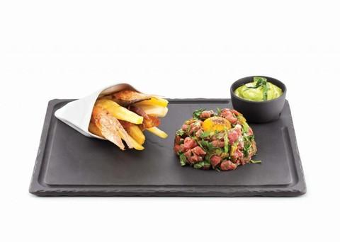 Фарфоровый салатник 10 см, черный, артикул 642035, серия Basalt