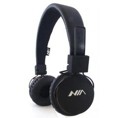 Наушники Bluetooth NIA-1682S MP3 (Черный)