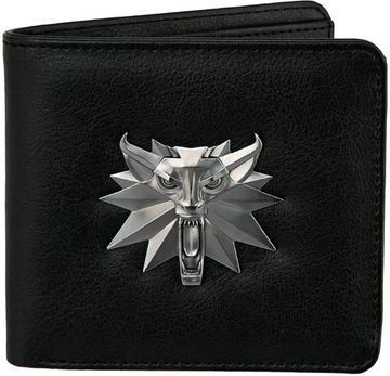 Гаманець The Witcher 3 White Wolf Bi-Fold Wallet-One Size-Black