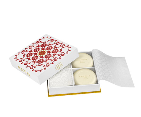 Amouage Lyric woman soap 4x50гр