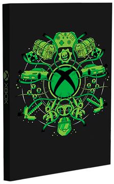 Записна книжка Xbox Light Up Notebook CDU of 12