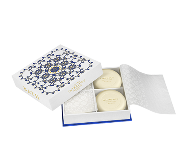 Amouage Interlude woman soap 4x50гр