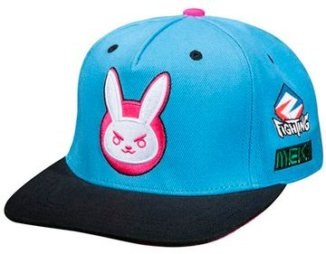 Бейсболка Overwatch Ultimate D.Va Snap Back Hat-One Size-Blue
