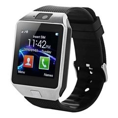 Умные часы Smart Watch DZ09 (Серебристый)